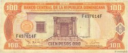 100 Pesos Oro RÉPUBLIQUE DOMINICAINE  1998 P.156b TB