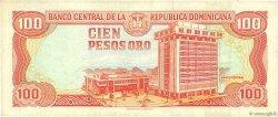 100 Pesos Oro RÉPUBLIQUE DOMINICAINE  1998 P.156b TTB