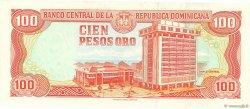 100 Pesos Oro RÉPUBLIQUE DOMINICAINE  1998 P.156b NEUF