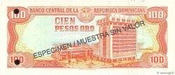100 Pesos Oro RÉPUBLIQUE DOMINICAINE  1997 P.156s1 NEUF