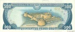 500 Pesos Oro RÉPUBLIQUE DOMINICAINE  1996 P.157a NEUF