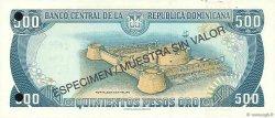 500 Pesos Oro RÉPUBLIQUE DOMINICAINE  1997 P.157s2 NEUF