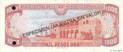 1000 Pesos Oro RÉPUBLIQUE DOMINICAINE  1996 P.158s1 NEUF