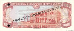 1000 Pesos Oro RÉPUBLIQUE DOMINICAINE  1997 P.158s2 NEUF