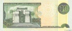 10 Pesos Oro RÉPUBLIQUE DOMINICAINE  2000 P.159a SUP