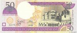 50 Pesos Oro RÉPUBLIQUE DOMINICAINE  2000 P.161a SUP