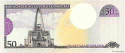 50 Pesos Oro RÉPUBLIQUE DOMINICAINE  2000 P.161a NEUF