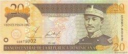 20 Pesos Oro RÉPUBLIQUE DOMINICAINE  2002 P.169b SUP