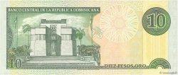 10 Pesos Oro RÉPUBLIQUE DOMINICAINE  2000 P.165a NEUF