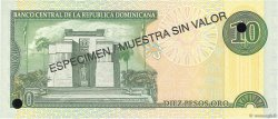 10 Pesos Oro RÉPUBLIQUE DOMINICAINE  2000 P.165s1 NEUF