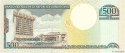 500 Pesos Oro RÉPUBLIQUE DOMINICAINE  2000 P.162a NEUF