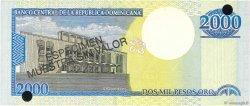 2000 Pesos Oro RÉPUBLIQUE DOMINICAINE  2000 P.164s NEUF