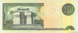 10 Pesos Oro RÉPUBLIQUE DOMINICAINE  2001 P.168a SUP