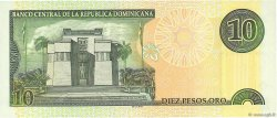 10 Pesos Oro RÉPUBLIQUE DOMINICAINE  2001 P.168a NEUF