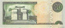 10 Pesos Oro RÉPUBLIQUE DOMINICAINE  2003 P.168c SPL
