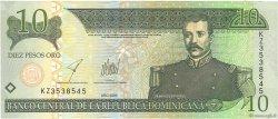 10 Pesos Oro RÉPUBLIQUE DOMINICAINE  2003 P.168c NEUF