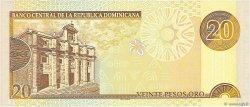 20 Pesos Oro RÉPUBLIQUE DOMINICAINE  2001 P.169a NEUF