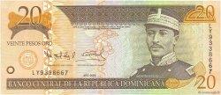 20 Pesos Oro RÉPUBLIQUE DOMINICAINE  2004 P.169d NEUF
