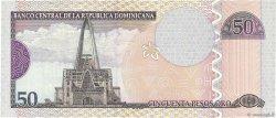 50 Pesos Oro RÉPUBLIQUE DOMINICAINE  2002 P.170b SPL