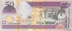 50 Pesos Oro RÉPUBLIQUE DOMINICAINE  2003 P.170c TTB