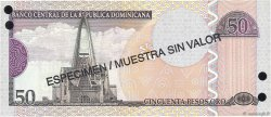 20 Pesos Oro RÉPUBLIQUE DOMINICAINE  2002 P.170s2 NEUF