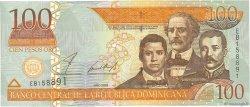 100 Pesos Oro RÉPUBLIQUE DOMINICAINE  2002 P.171b NEUF