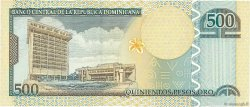 500 Pesos Oro RÉPUBLIQUE DOMINICAINE  2002 P.172a NEUF