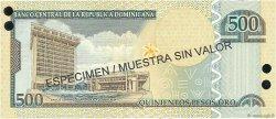 500 Pesos Oro RÉPUBLIQUE DOMINICAINE  2003 P.172s2 NEUF