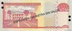1000 Pesos Oro RÉPUBLIQUE DOMINICAINE  2002 P.173s1 NEUF