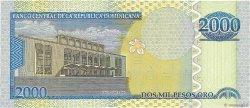 2000 Pesos Oro RÉPUBLIQUE DOMINICAINE  2002 P.174a SPL