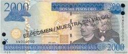 2000 Pesos Oro RÉPUBLIQUE DOMINICAINE  2004 P.174s3 NEUF