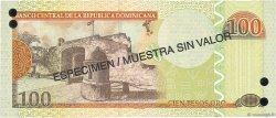 100 Pesos Oro RÉPUBLIQUE DOMINICAINE  2004 P.171s4 NEUF