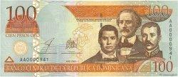 100 Pesos Oro RÉPUBLIQUE DOMINICAINE  2002 P.175a SPL