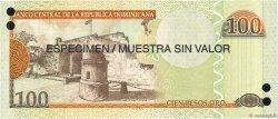 100 Pesos Oro RÉPUBLIQUE DOMINICAINE  2006 P.177s1 NEUF