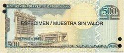 500 Pesos Oro RÉPUBLIQUE DOMINICAINE  2006 P.179s1 NEUF