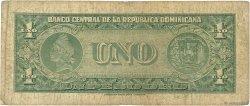 1 Peso Oro RÉPUBLIQUE DOMINICAINE  1956 P.071a B