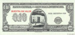 10 Centavos Oro RÉPUBLIQUE DOMINICAINE  1961 P.086s pr.NEUF
