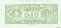 10 Centavos Oro RÉPUBLIQUE DOMINICAINE  1961 P.086s NEUF