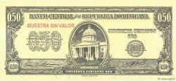 50 Centavos Oro RÉPUBLIQUE DOMINICAINE  1961 P.090s NEUF