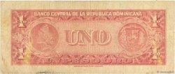 1 Peso Oro RÉPUBLIQUE DOMINICAINE  1962 P.091a B