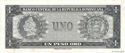 1 Peso Oro RÉPUBLIQUE DOMINICAINE  1964 P.099a TTB+