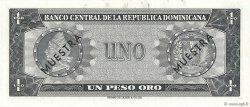 1 Peso Oro RÉPUBLIQUE DOMINICAINE  1964 P.099s1 NEUF