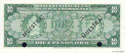 10 Pesos Oro RÉPUBLIQUE DOMINICAINE  1964 P.101s2 pr.NEUF