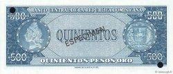 500 Pesos Oro RÉPUBLIQUE DOMINICAINE  1964 P.105s3 pr.NEUF