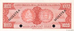 1000 Pesos Oro RÉPUBLIQUE DOMINICAINE  1964 P.106s2 pr.NEUF
