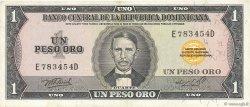 1 Peso Oro RÉPUBLIQUE DOMINICAINE  1976 P.108a TTB