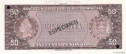 50 Pesos Oro RÉPUBLIQUE DOMINICAINE  1975 P.112s NEUF