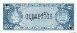500 Pesos Oro RÉPUBLIQUE DOMINICAINE  1975 P.114s NEUF