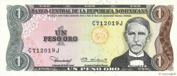 1 Peso Oro RÉPUBLIQUE DOMINICAINE  1980 P.117a NEUF