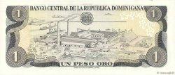 1 Peso Oro RÉPUBLIQUE DOMINICAINE  1982 P.117c SUP